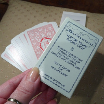 Replica Deck of Mlle Lenormand's Cartomancy or Divination Cards